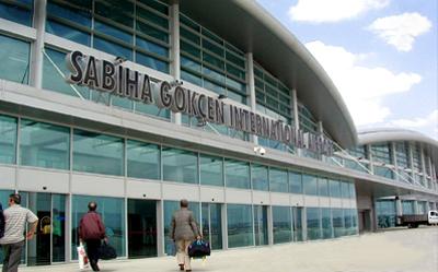 Sabiha Gökçen yeni terminalden yurtdışına uçuşlar başladı