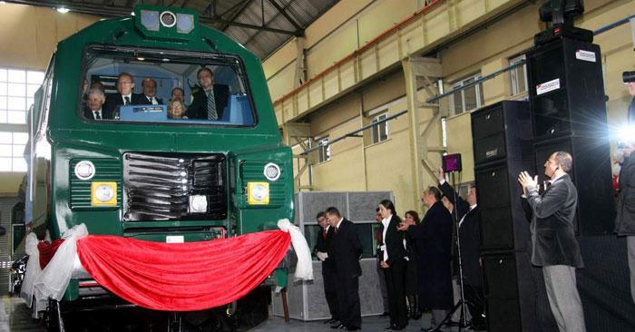 İlk PowerHaul lokomotif görücüye çıktı