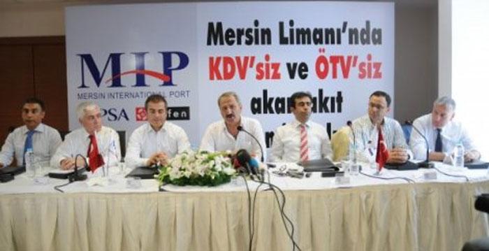 Mersin'de ÖTV ve KDV'siz akaryakıt