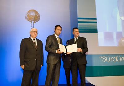 Kalite Ödülü İDO ve Borusan'ın