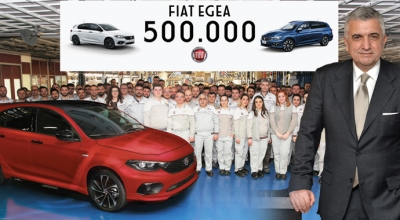 500 bin Egea üretildi