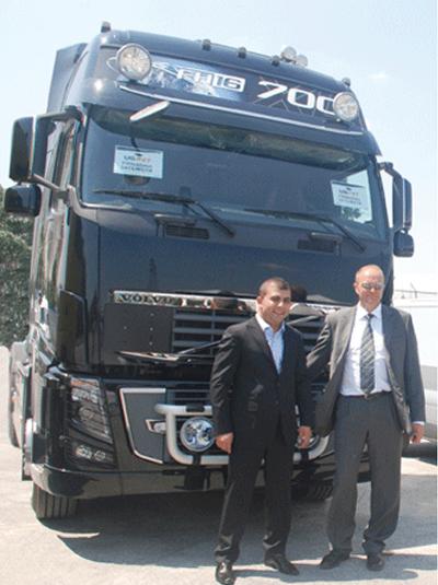 Volvo FH16 Uspet'in filosunda