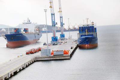 Nemport Limanı kapasite artırdı