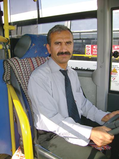 Otobüsçünün hayatı karardı