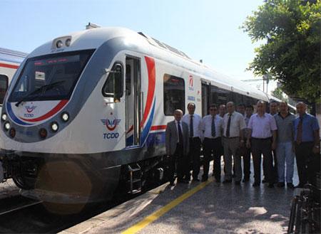 Adana-Mersin arasına yeni tren seti