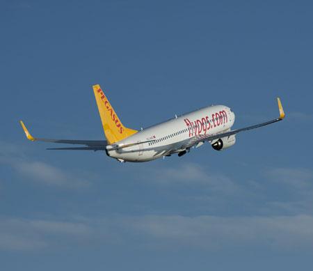 Pegasus, Bakü'ye ortak uçuş başlattı