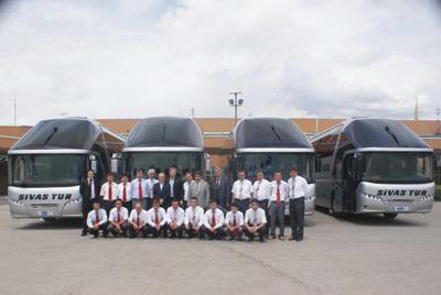 Otobüsçülerin gözdesi Neoplan