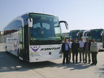 Bireysel otobüsçünün kalitesi belli
