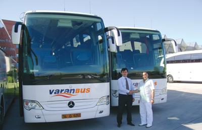 Otobüs yatırımları devam ediyor