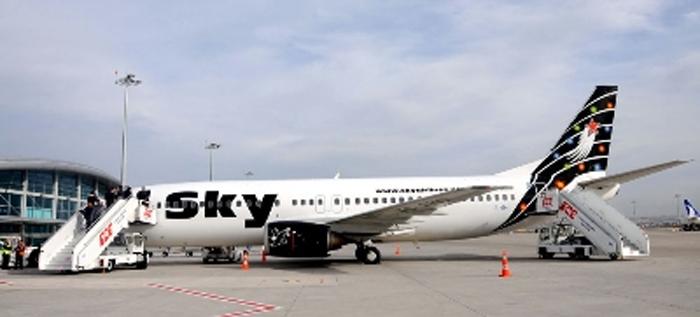 Sky Airlines, iç hat uçuşlarına başlıyor