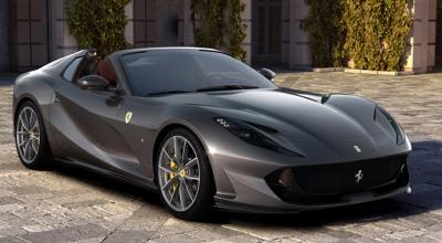 800 HP'lik Ferrari