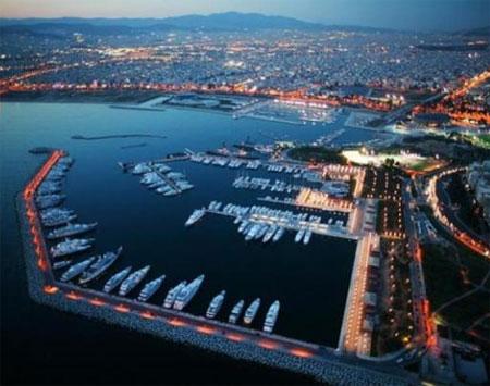 Yunanistan'ın en büyük marinası Doğuş'un