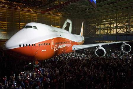 Boeing, yeni modelini görücüye çıkarttı