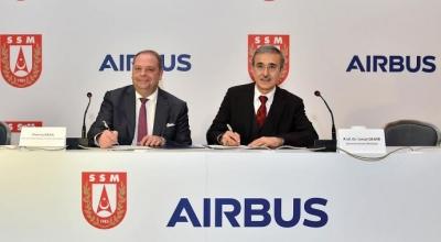 Airbus'ın tedarikçisi Türkiye