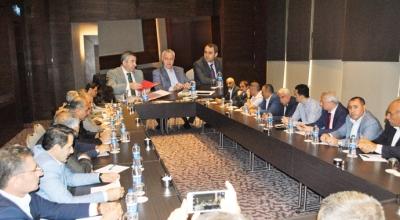 AK Parti'li Ataş, halk otobüsçülerinin sorunlarını not aldı