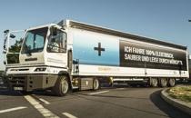 Allison şanzımanlı elektrikli kamyonlar Münih yollarında