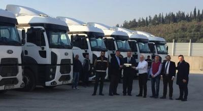 Bağcı Antrepo 15 adet Ford Trucks aldı