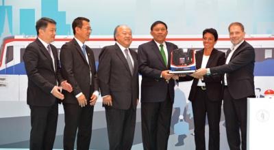 Bozankaya, metroyu Tayland'a gönderdi