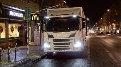 Büyük projede Scania imzası