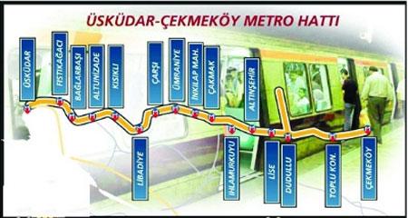 Anadolu metrosu için yabancı sıraya girdi