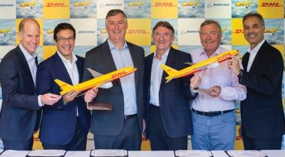 DHL filoyu Boeing ile yeniliyor