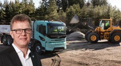 Elektrikli Volvolar İnşaat sektöründe