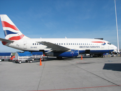 British Airways 2014'te çöple uçacak