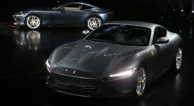 Ferrari Roma'yı tanıttı