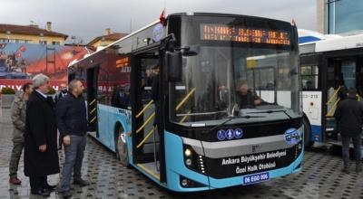 Halk otobüslerinde hasılata göre vergi