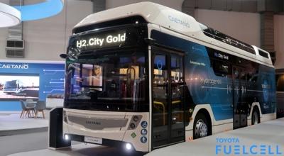 Hidrojenli otobüsler yolda
