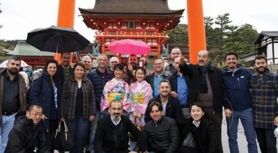 Isuzu'nun başarılı ekibi Japonya'da