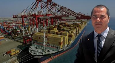 İzmir limanında konteyner rekoru
