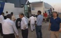 Kamil Koç'un şoförü otobüs kullanmasını bilmiyor mu?