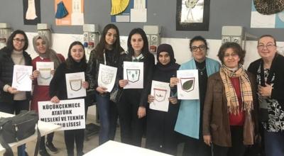 Liseli kızlarımız Avrupa'da eğitim alıyor