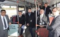 Manisa Belediye Başkanı Trambüsü inceledi
