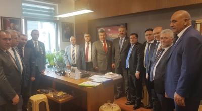 Oda Başkanı Ovacık Ankara'yı mesken tuttu