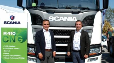 Scania, CNG'li modelini tanıttı