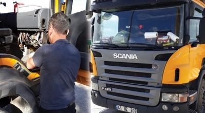 Scania serviste sınır tanımadı