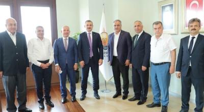 Şenocak halk otosçüsüne destek sözü verdi