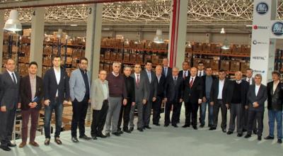 Treyler üreticileri, BPW Fabrikası'nı ziyaret etti