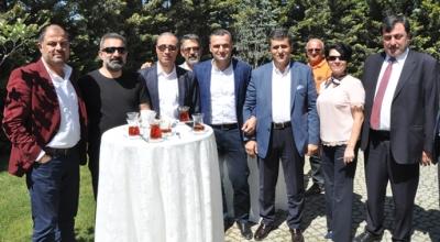 UND'nin desteği ile Abdullah Özer AK Parti'den aday oldu