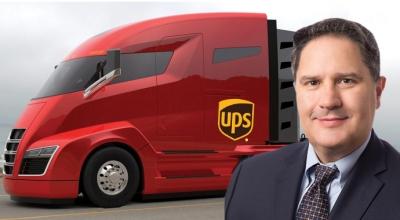 UPS, 125 adet elektrikli çekici alacak