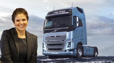 Volvo Trucks'ın direksiyonuna Zeynep Özen geçti