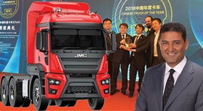 Yılın kamyonu Ecotorq'lu JMC